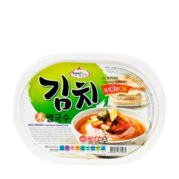 Лапша быстрого приготовления Han's Korea Cooksi Rice Noodle With Kimchi Flavor