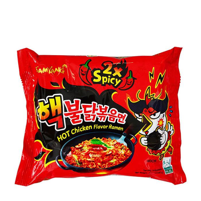 Лапша быстрого приготовления Samyang Hot Chicken Flavor Ramen 2x Spicy