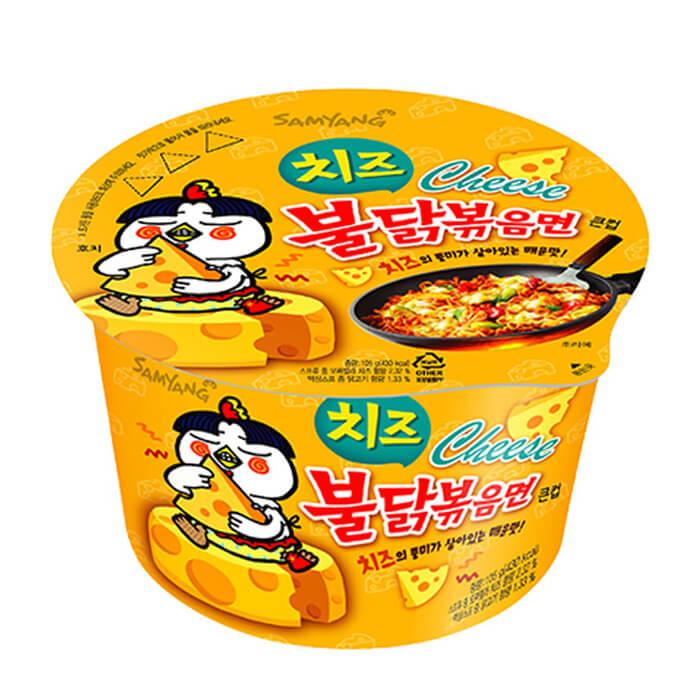 Лапша быстрого приготовления Samyang Hot Chicken Flavor Ramen Cheese (105 г)