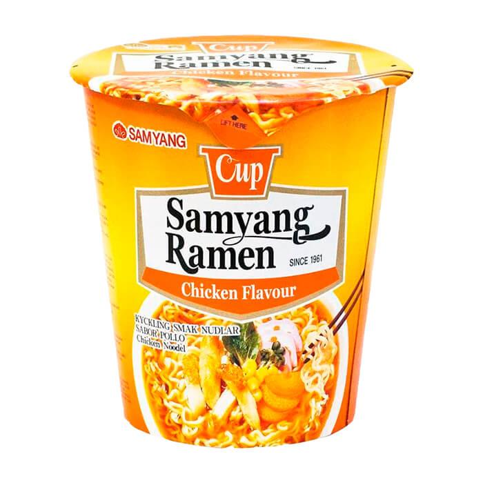 Лапша быстрого приготовления Samyang Ramen Chicken Flavor