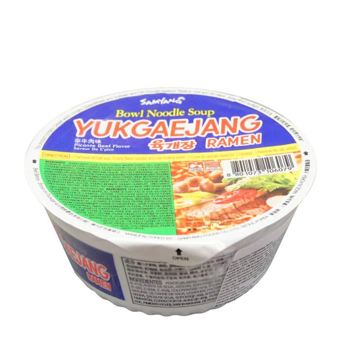 Лапша быстрого приготовления Samyang Yukgaejang Ramen