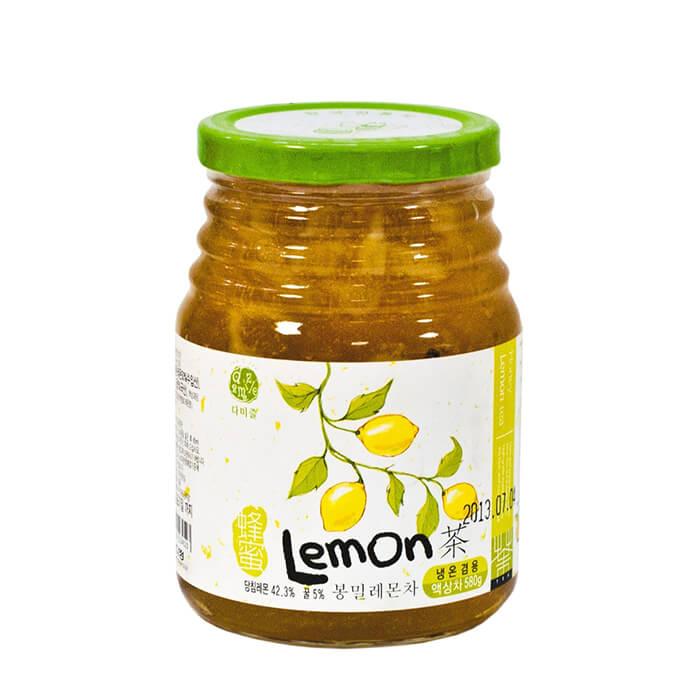 Купить Лимон с мёдом Da Jung Damizle Lemon Honey Tea, Джем из лимона с мёдом для приготовления горячих и холодных напитков, Продукты, Южная Корея