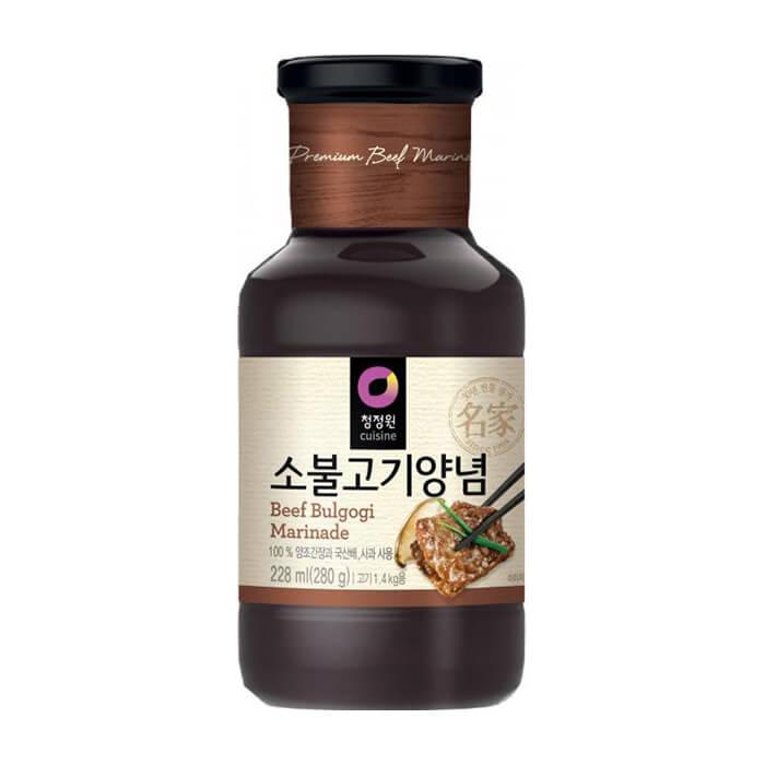 Купить Маринад для говядины Daesang Beef Bulgogi Marinade, Маринад для приготовления блюд из говядины, Продукты, Южная Корея