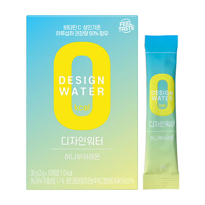 Купить Напиток растворимый Da Jung Design Water, Напиток растворимый со вкусом ханибуш и лимона (0 калорий), Продукты, Южная Корея