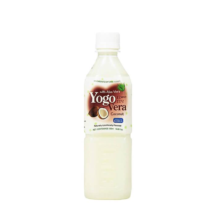 Купить Напиток Samjin Yogovera Coconut, Освежающий напиток на основе алоэ со вкусом кокоса, Продукты, Южная Корея