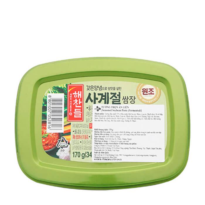 Купить Паста соевая острая для мяса Spicy Ssamjang Seasoned Soybean Paste For Meat, Острая соевая паста для приготовления мясных блюд, Продукты, Южная Корея