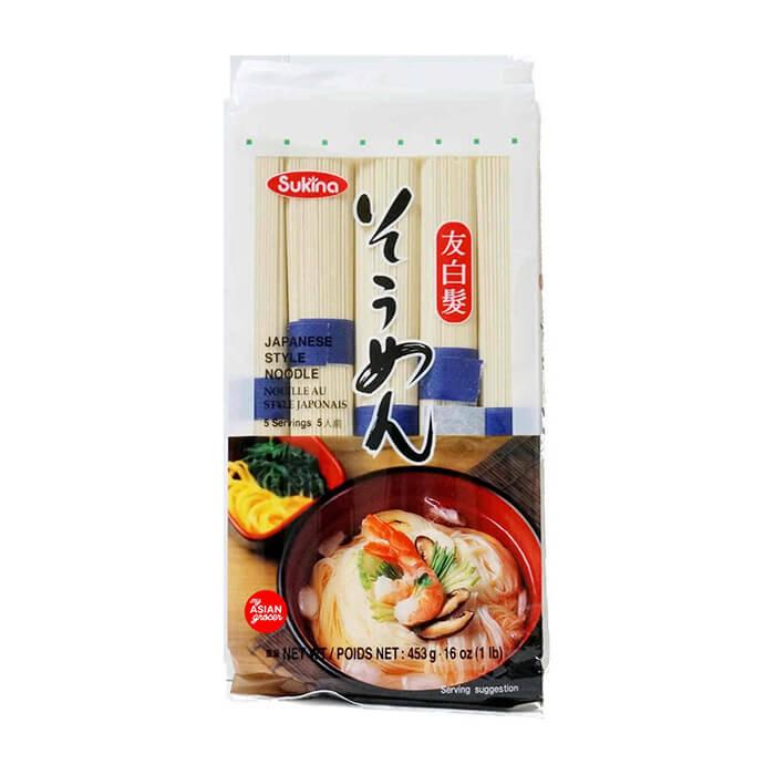 Пшеничная лапша Samjin Sukina Japanese Style Noodle