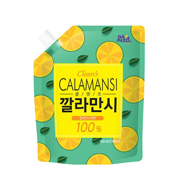 Сок каламанси Da Jung Damizle Clean's Calamansi 100% сок мускусного лайма каламанси для приготовления напитков и сиропов фото
