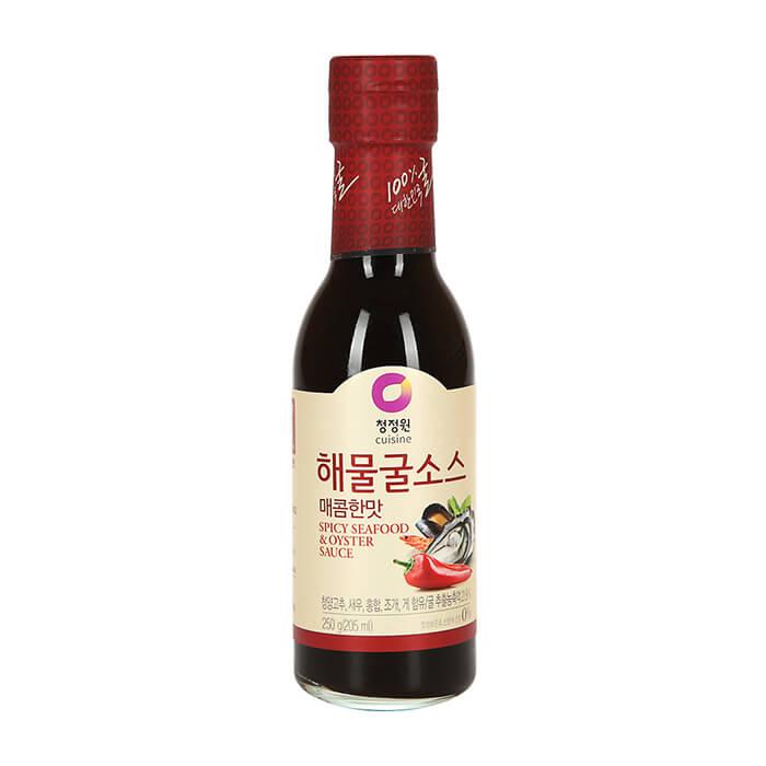 Купить Соус устричный Daesang Seafood & Oyster Sauce (острый), Острый соус из протертого устричного мяса для приготовления жареных блюд, Продукты, Южная Корея