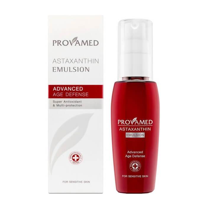 Купить Эмульсия для лица Provamed Astaxanthin Emulsion, Эмульсия для восстановления и обновления кожи лица с природным антиоксидантом, Таиланд
