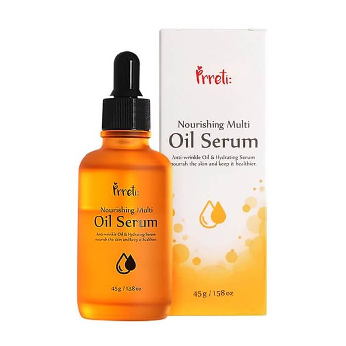 Купить Сыворотка для лица Prreti Nourishing Multi Oil Serum, Питательная сыворотка для лица с маслами и витаминами, Южная Корея