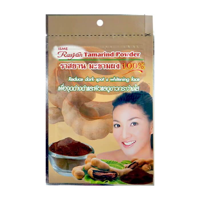Маска-скраб для лица и тела Rasyan Tamarind Powder 100% Натуральная порошковая маска-скраб из тамаринда против пигментации фото