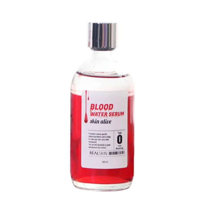 Купить Сыворотка для лица Realskin Blood Water Serum, Антивозрастная отбеливающая сыворотка для лица, Южная Корея