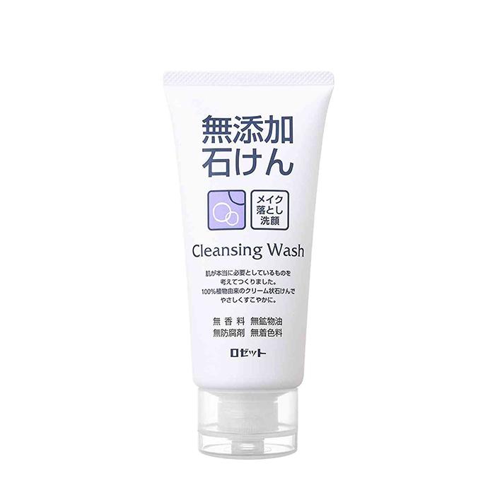 Купить Пенка для умывания Rosette Makeup Removing Facial Cleansing Foam, Кремовая пенка для умывания и снятия макияжа без искусственных добавок, Япония