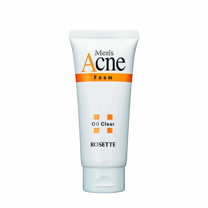 Купить Пенка для умывания Rosette Men's Acne Foam, Мужская пенка для очищения проблемной кожи с экстрактом плодов шиповника, Япония