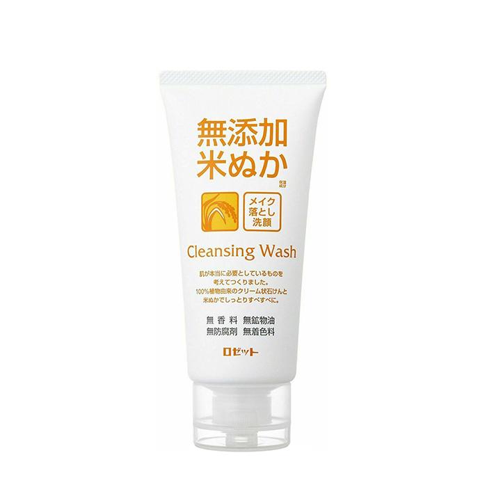 Купить Пенка для умывания Rosette Makeup Removing Facial Cleansing Foam Rice Bran, Кремовая пенка для умывания и снятия макияжа с экстрактом риса, Япония