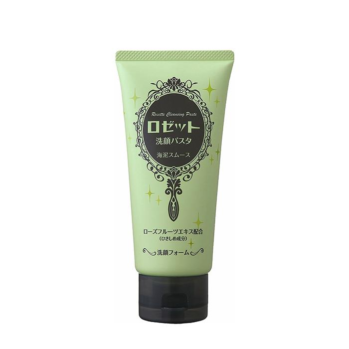 Купить Пенка для умывания Rosette Cleansing Paste Face Wash, Пенка для умывания с морскими грязями для очищения пор и избавления от чёрных точек, Япония