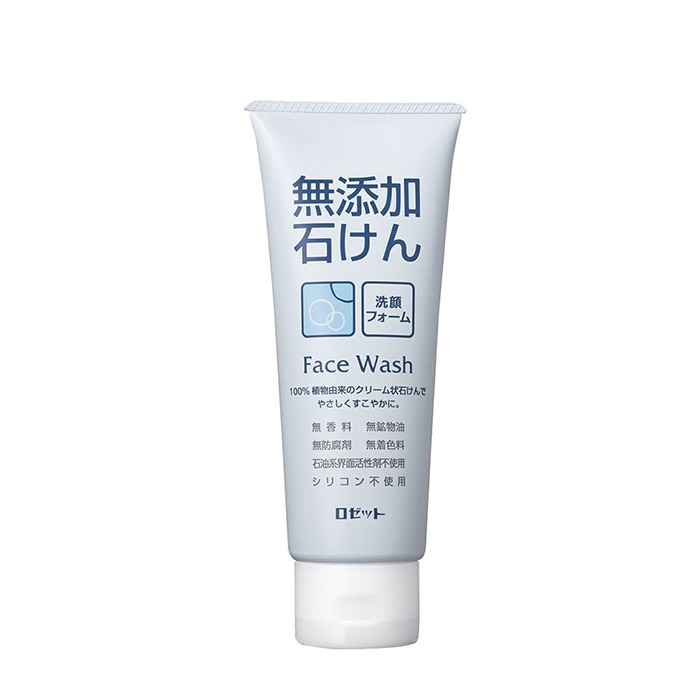 Купить Пенка для умывания Rosette Additive-Free Soap Face Wash Foam, Кремовая пенка для умывания кожи лица без искусственных добавок, Япония