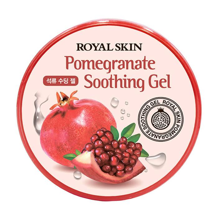 Купить Гель с гранатом Royal Skin Pomegranate Soothing Gel, Многофункциональный увлажняющий гель для лица и тела с экстрактом граната, Южная Корея