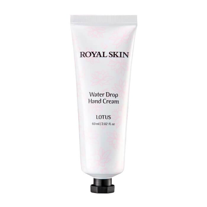 Купить Крем для рук Royal Skin Water Drop Hand Cream - Lotus, Тающий крем для рук с экстрактом оливы и цветов лотоса, Южная Корея