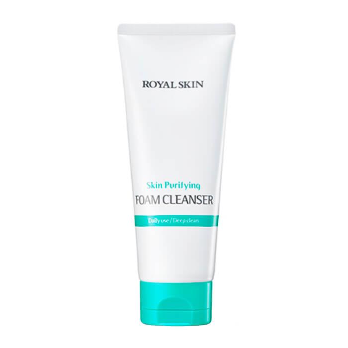 Купить Очищающая пенка Royal Skin Purifying Foam Cleanser, Увлажняющая пенка для умывания лица с коллагеном, Южная Корея