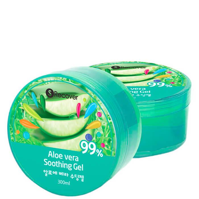Гель с алоэ S Recover Aloe Vera 98% Soothing Gel Многофункциональный гель с 99% экстрактом алоэ вера фото