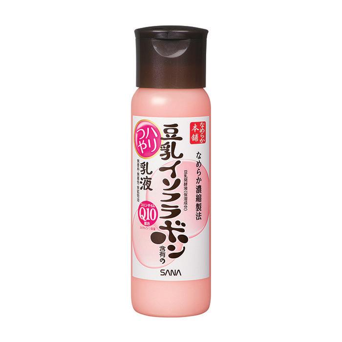 Купить Лосьон для лица Sana Soy Milk Haritsuya Milk Lotion, Увлажняющий лосьон-молочко для кожи лица с изофлавонами сои и коэнзимом Q10, Япония