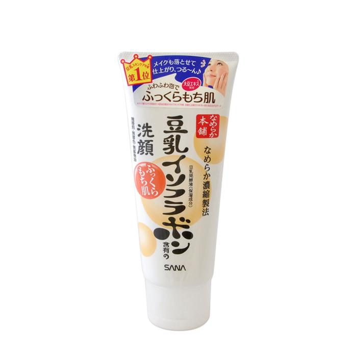 Купить Пенка для умывания Sana Soy Milk Moisture Cleansing Wash, Пенка для умывания и снятия макияжа увлажняющая с изофлавонами сои, Япония
