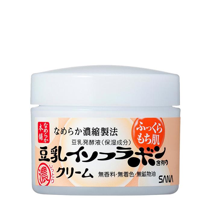 Купить Ночной крем для лица Sana Soy Milk Night Cream, Ночной питательный крем для кожи лица с изофлавонами сои, Япония