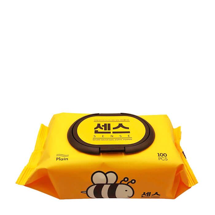 Купить Влажные салфетки Secret Day Sense Aloe & Honey Wet Wipes, Влажные салфетки с экстрактом алоэ вера и мёда для мягкого очищения кожи, Южная Корея