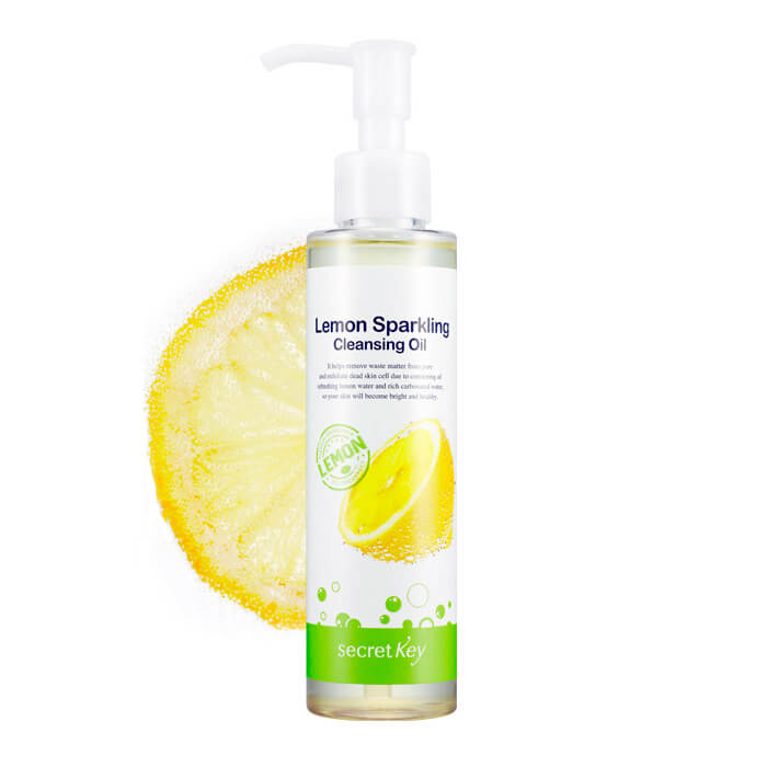 Гидрофильное масло Secret Key Lemon Sparkling Cleansing Oil Гидрофильное масло с экстрактом лимона для снятия макияжа фото
