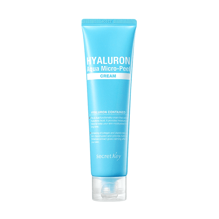Купить Крем для лица Secret Key Hyaluron Aqua Soft Cream, Гиалуроновый крем для моментального увлажнения и омоложения кожи лица, Южная Корея