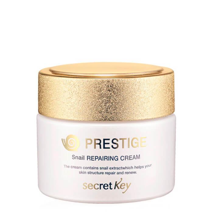 Купить Крем для лица Secret Key Prestige Snail Repairing Cream, Восстанавливающий крем для лица с экстрактом муцина улитки, Южная Корея