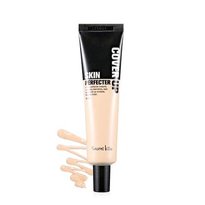 ВВ крем Secret Key Cover Up Skin Perfecter ББ крем для идеального макияжа с комплексом лекарственных экстрактов