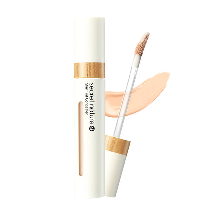 Купить Консилер для лица Secret Nature Skin Tint Concealer, Консилер для выравнивания тона и маскировки несовершенств кожи лица, Южная Корея