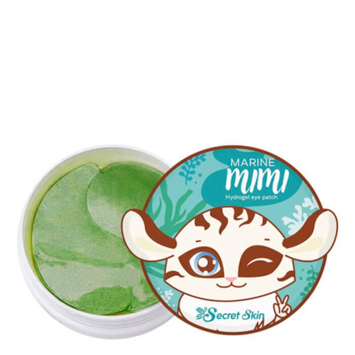 Купить Патчи для век Secret Skin Marine Mimi Hydrogel Eye Patch, Гидрогелевые патчи для глаз с экстрактом морских водорослей, Южная Корея