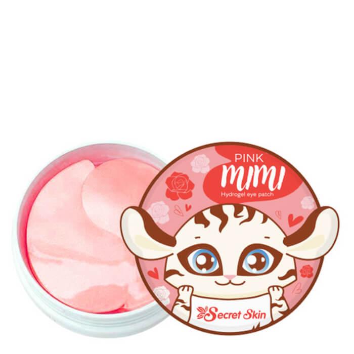 Патчи для век Secret Skin Pink Mimi Hydrogel Eye Patch, Гидрогелевые патчи для глаз с экстрактом дамасской розы, Южная Корея  - Купить