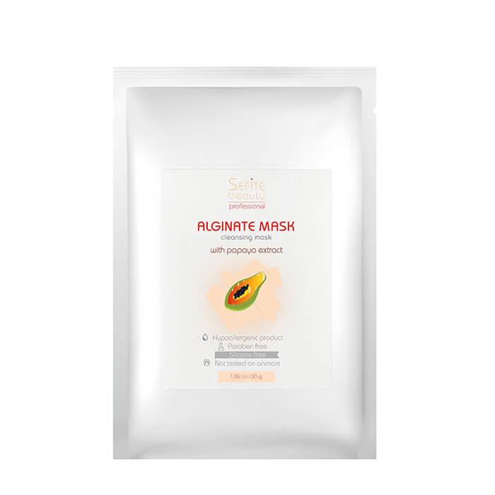 Купить Альгинатная маска Sefite Alginate Cleansing Mask with Papaya Extract, Очищающая альгинатная маска для лица с экстрактом папайи, Россия