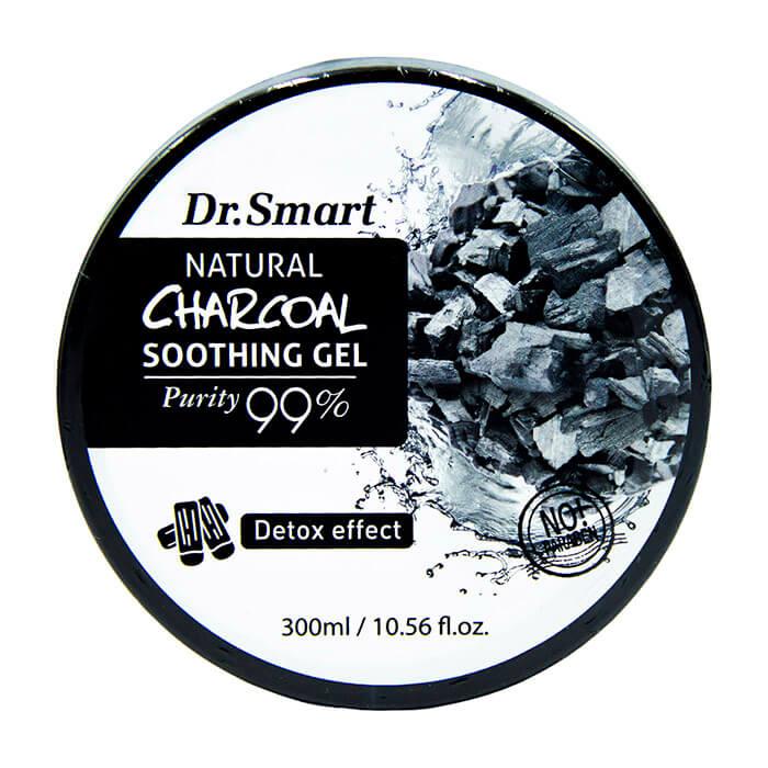 Купить Гель для лица и тела Sense of Care Dr.Smart Natural Charcoal Soothing Gel, Многофункциональная гель для кожи лица и тела с высоким содержанием древесного угля, Южная Корея