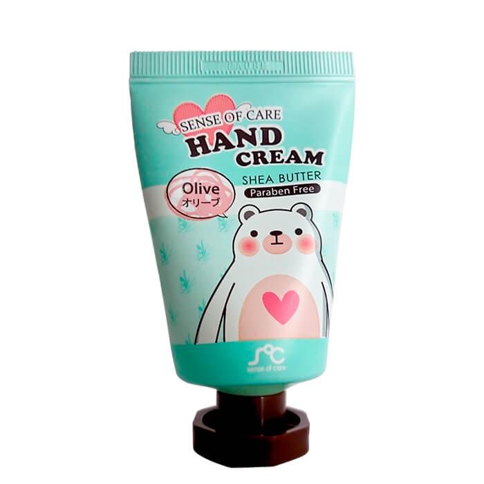 Купить Крем для рук Sense of Care Shea Butter & Olive Hand Cream, Крем для рук с маслом ши и экстрактом оливы, Южная Корея