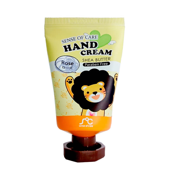 Купить Крем для рук Sense of Care Shea Butter & Rose Hand Cream, Крем для рук с маслом ши и экстрактом розы, Южная Корея