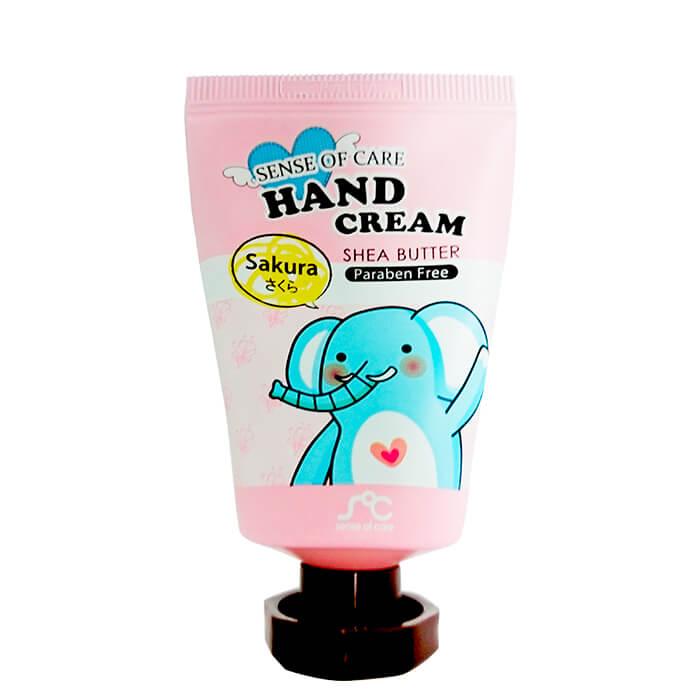 Купить Крем для рук Sense of Care Shea Butter & Sakura Hand Cream, Крем для рук с маслом ши и экстрактом цветов сакуры, Южная Корея