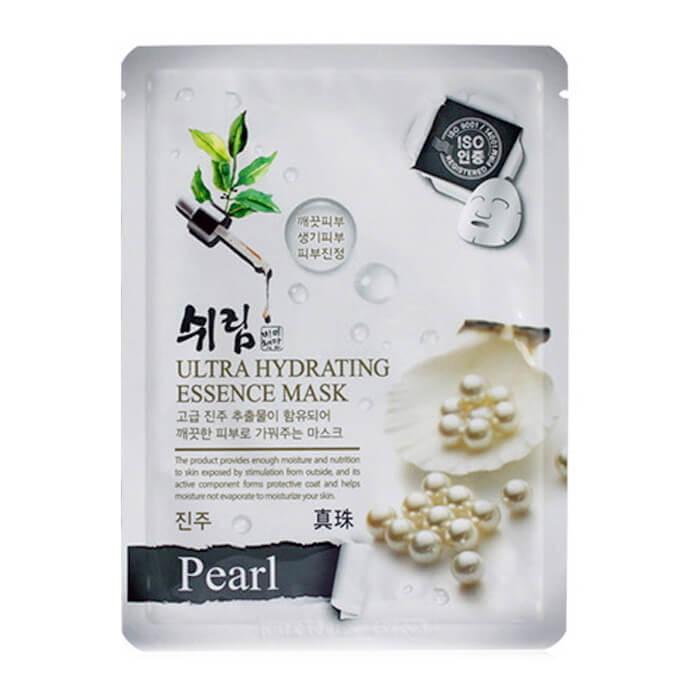 Купить Маска для лица Shelim Hydrating Essence Mask - Pearl, Тканевая маска для лица с натуральным экстрактом жемчуга, Южная Корея