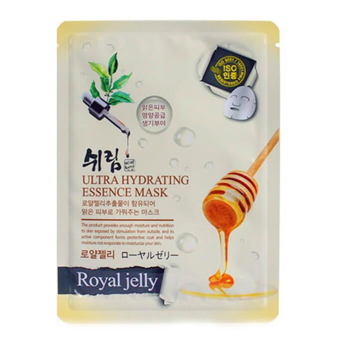 Купить Маска для лица Shelim Hydrating Essence Mask - Royal Jelly, Тканевая маска для лица с пчелиным маточным молочком, Южная Корея