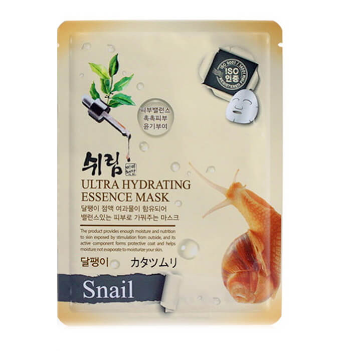 Маска для лица Shelim Hydrating Essence Mask - Snail.