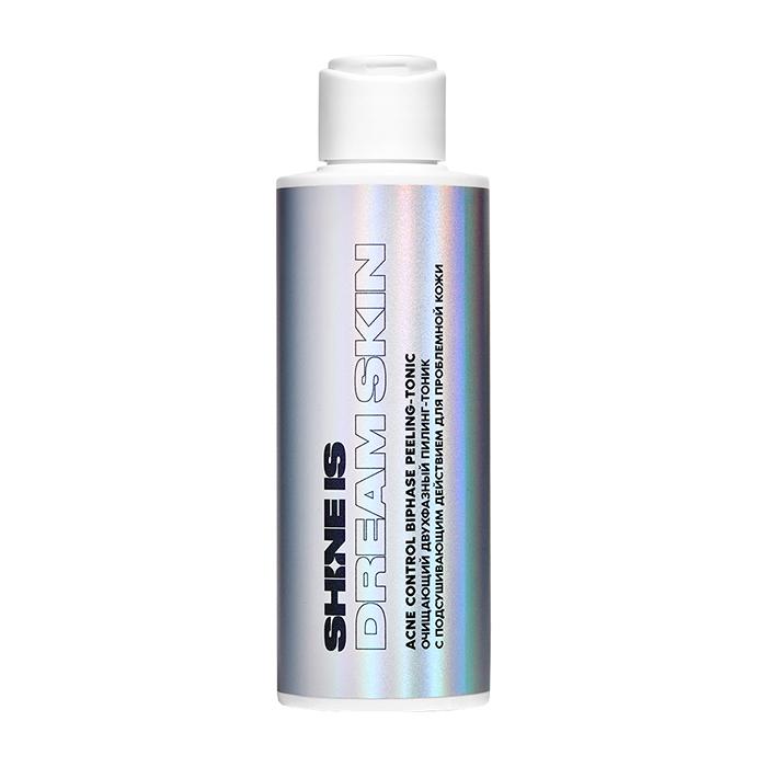 Купить Тоник для лица Shine is Acne Control BiPhase Peeling-Tonic, Очищающий двухфазный пилинг-тоник для кожи лица с подсушивающим действием, Россия