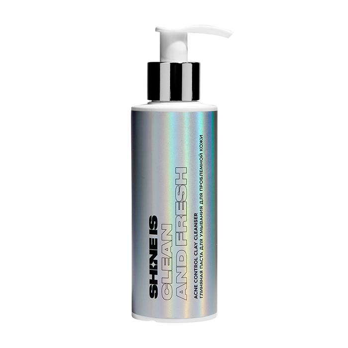 Купить Гель для умывания Shine is Acne Control Clay Cleanser, Глиняная бессульфатная очищающая паста для умывания кожи лица, Россия