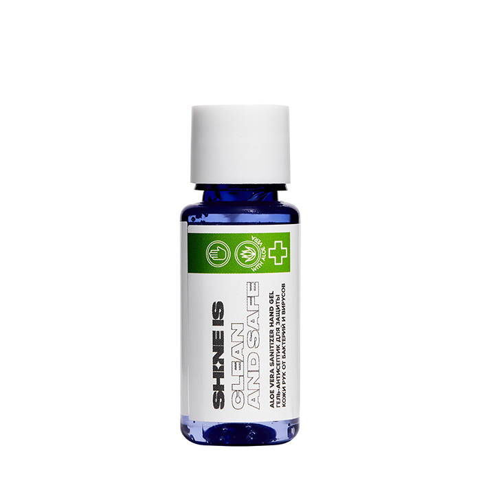 Купить Антибактериальный гель для рук Shine is Aloe Vera Sanitizer Hand Gel, Гель-антисептик с салициловой кислотой для защиты кожи рук от бактерий и вирусов, Россия