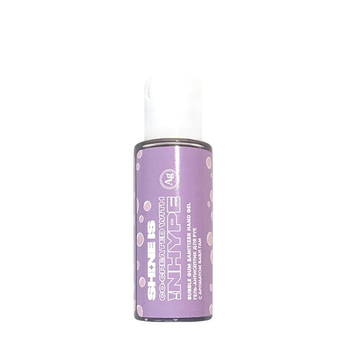 Купить Антибактериальный гель для рук Shine is Bubble Gum Sanitizer Hand Gel (30 мл), Антисептический гель для кожи рук с ароматом жевательной резинки, Россия