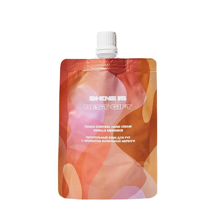Купить Крем для рук Shine is Touch Control Hand Cream Vanilla Meringue, Питательный крем для защиты кожи рук с ароматом ванильной меренги, Россия